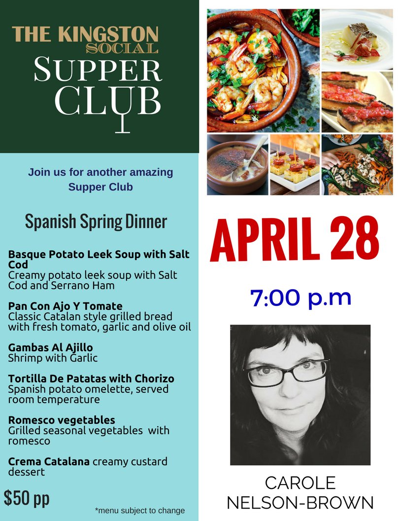 Supper Club with Carole Nelson Brown Spanish Spring Dinner